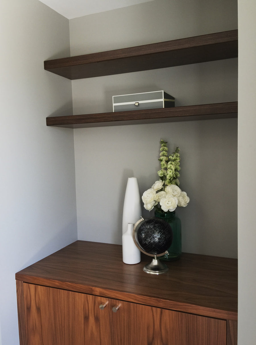 Baltic Birch Plywood Alcove Shelf