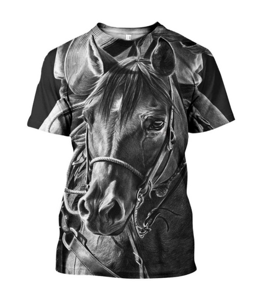 Dark Horse 3D Printed T-Shirt