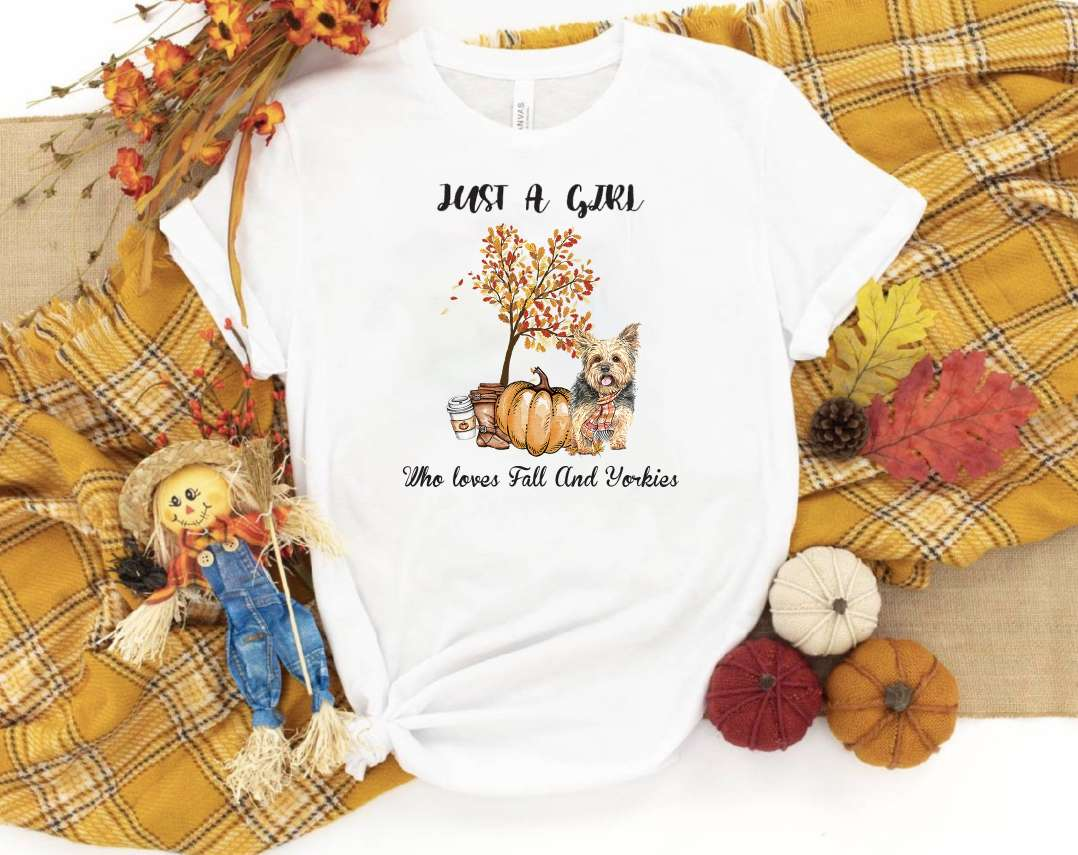 Fall and Yorkies T-Shirt