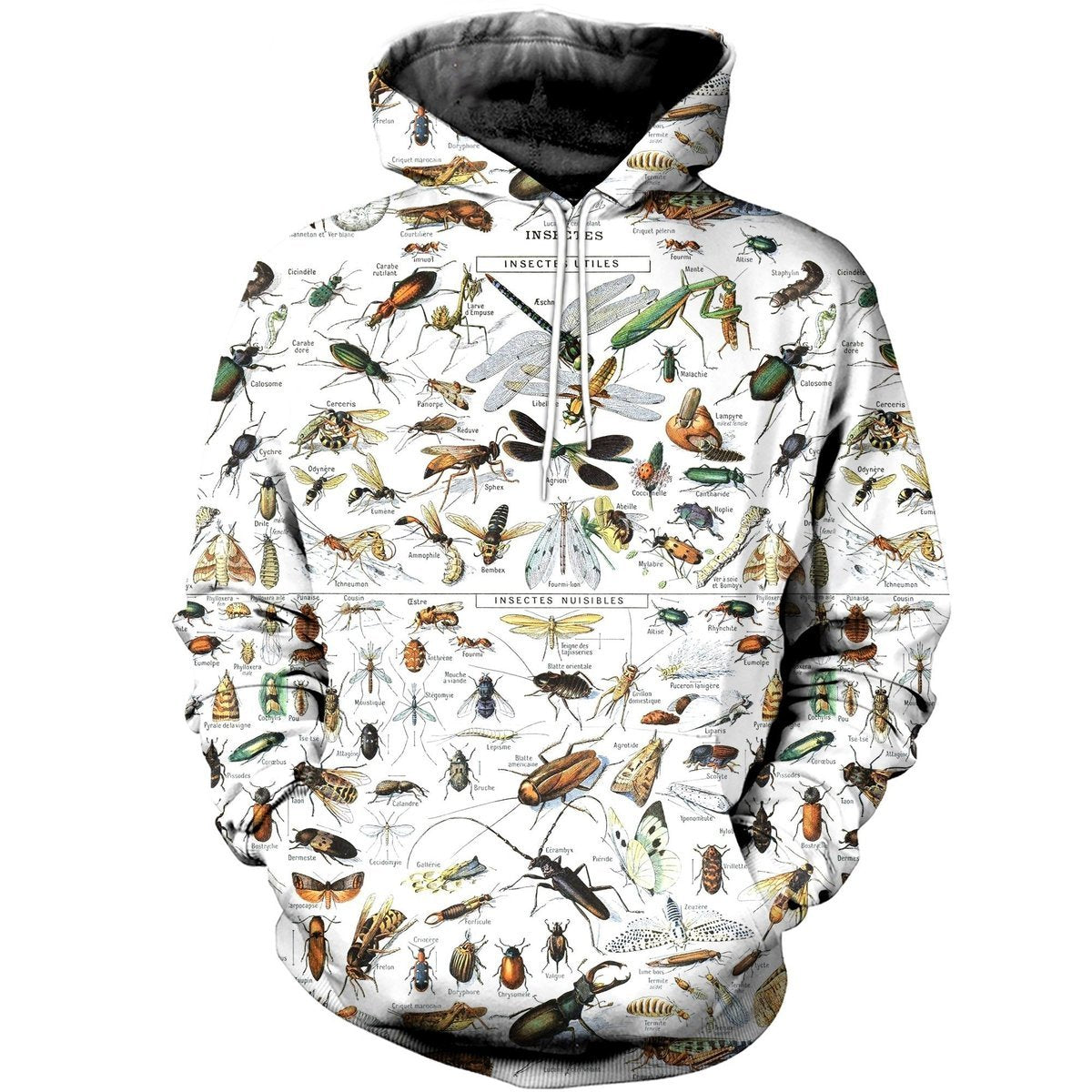 Insect 3D Printed Hoodie
