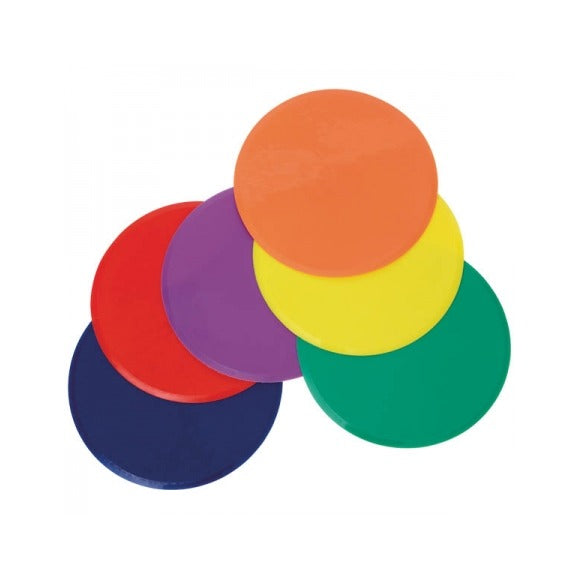 Rainbow POLYSPOT Set of 6