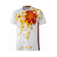 adidas 2016 FEF Spain 2016 Away Jersey, White