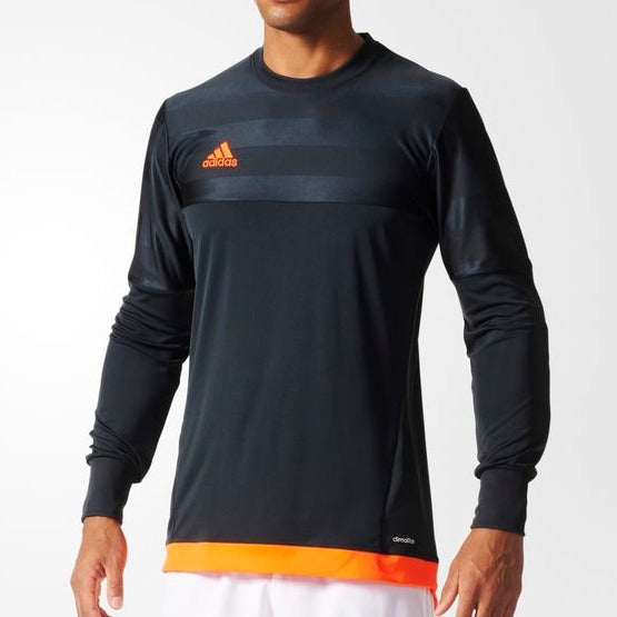 adidas Entry15 Youth Goalkeeper Jersey, DarkGrey/Orange