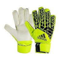 adidas ACE Fingersave Junior GoalKeeper Glove, Yellow