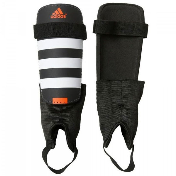 adidas Everclub Shin Guards, Black/White, Size XL