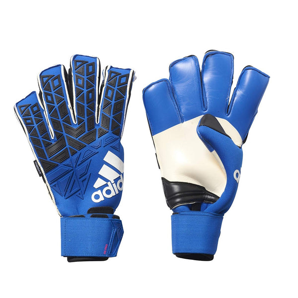 adidas ACE Trans Fingersave Pro GoalKeeper Gloves, Blue