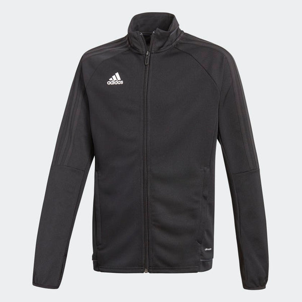 adidas Tiro17 Youth Training Jacket, Black