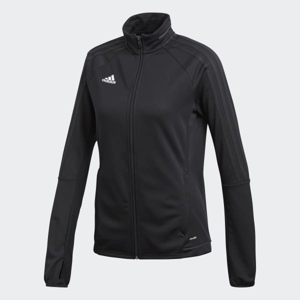 adidas Tiro17 Women's Training Jacket, Black