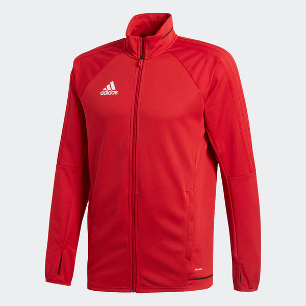 adidas Tiro17 Youth Training Jacket, Red
