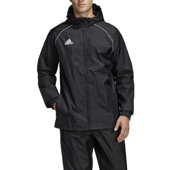 adidas Core18 Rain Jacket, Black