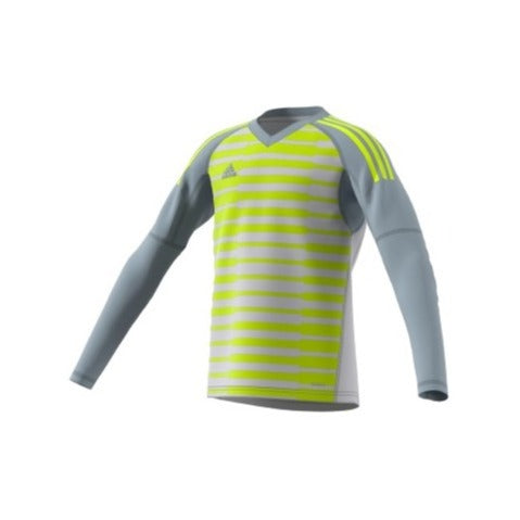 adidas AdiPro18 Youth Goalkeeper Jersey, Grey/Green
