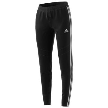 adidas Tiro19 Women's Training Pants, Black/White