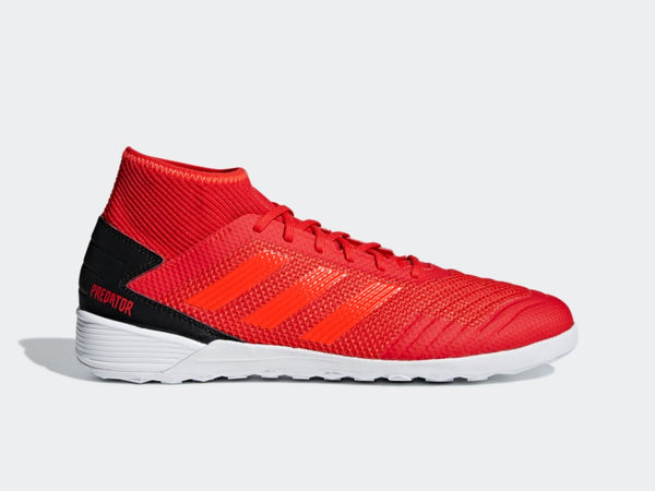 adidas Predator 19.3 INDOOR Soccer Shoes, Red