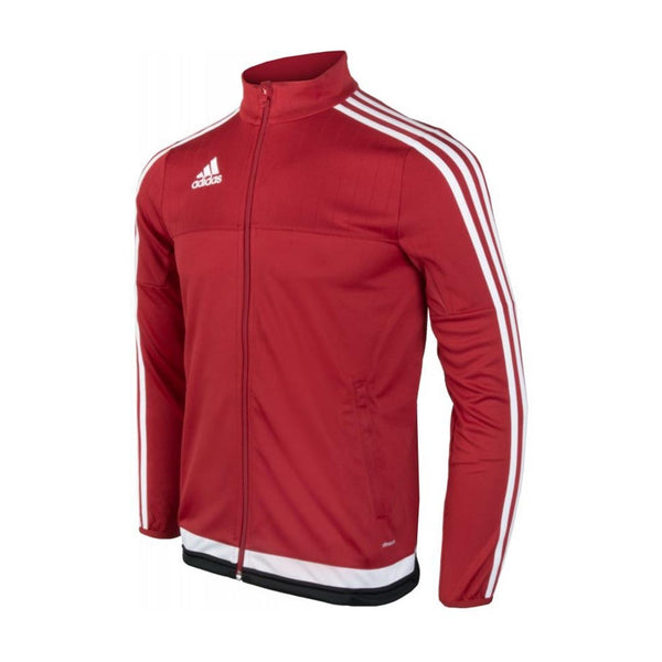 adidas Tiro15 Youth Training Jacket, Red
