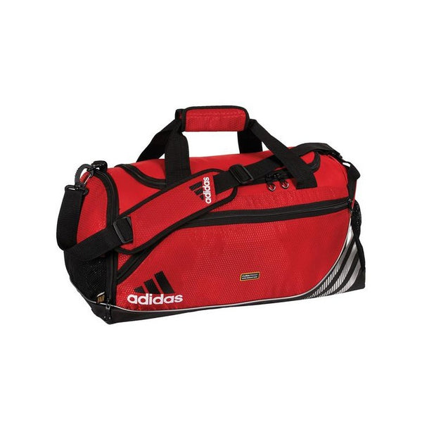 adidas Team Speed Duffel Bag, Red, Size Medium