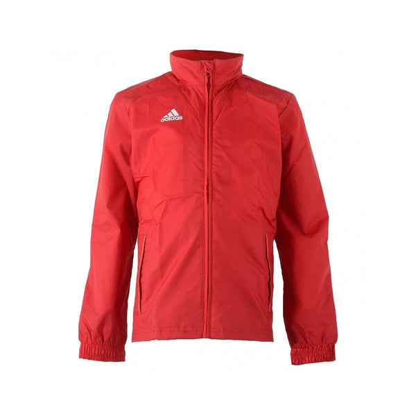 adidas Core 15 Youth Rain Jacket, Red