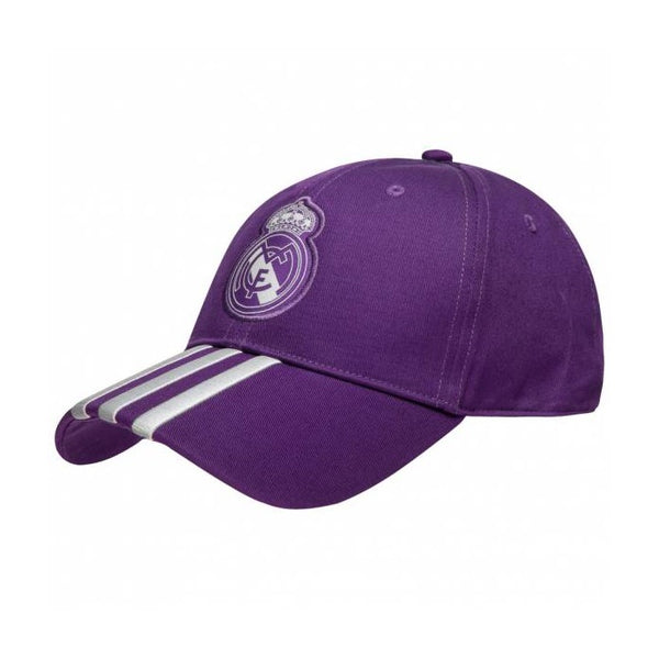 adidas Real Madrid Adjustable 3S Cap, Purple