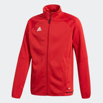 Adidas Tiro 17 Youth Training Jacket - Red