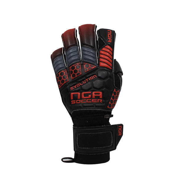 Evolution Red-Grey Goalkeeper Glove