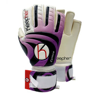 Keepher Womens Cynisca Match Goalkeeper Glove, Purple