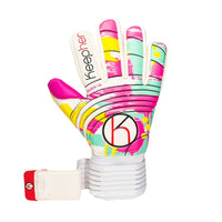 Keepher Women's Duenna Goalkeeper Glove, Rainbow
