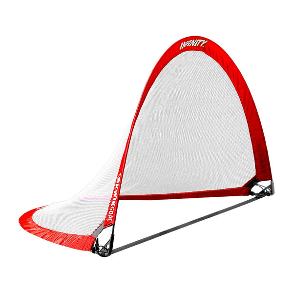 "Kwikgoal Infinity Goal, Red, Medium 32"" H x 48"" W x 32"" D"