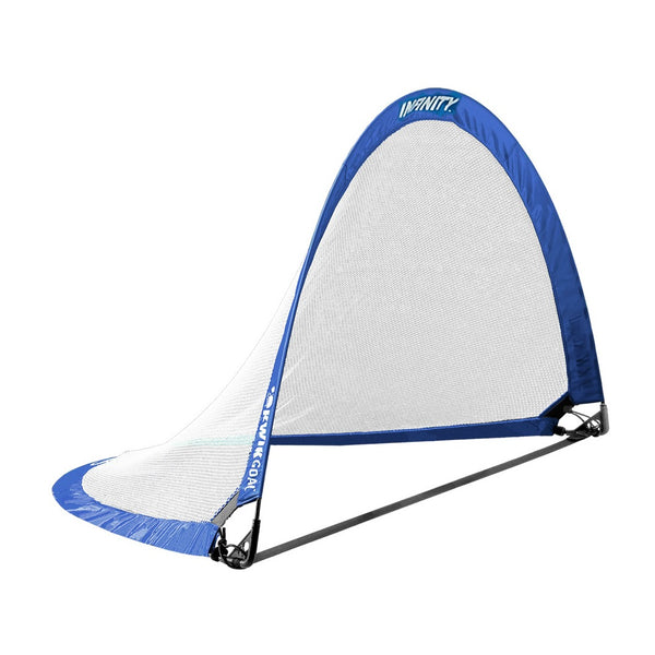 "Infinity Pop-Up Goal, Blue, Large, 42"" H x 72"" W x 42"" D"
