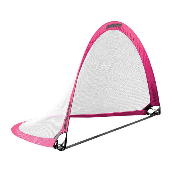 "Infinity Pop-Up Goal, Pink, Large, 42"" H x 72"" W x 42"" D"