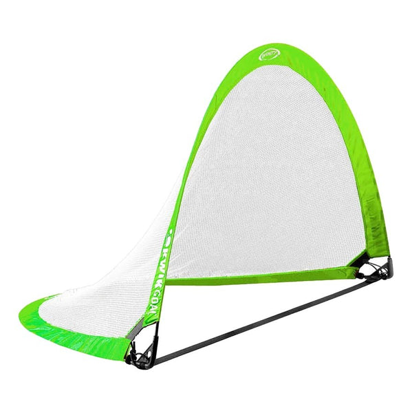 "Infinity Pop-Up Goal, Hi-Vis Green, Large 42"" H x 72"" W x 42"" D"