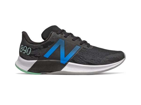 New Balance FuelCell 890v8 Men's Running Shoes, Black/Blue