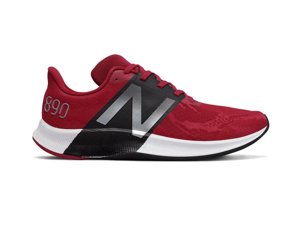 New Balance FuelCell 890v8 Men's Running Shoes, Red/Black
