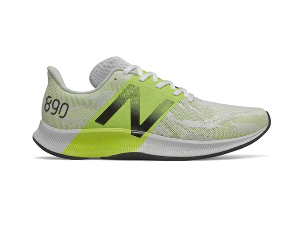 New Balance FuelCell 890v8 Men's Running Shoes, Yellow/White