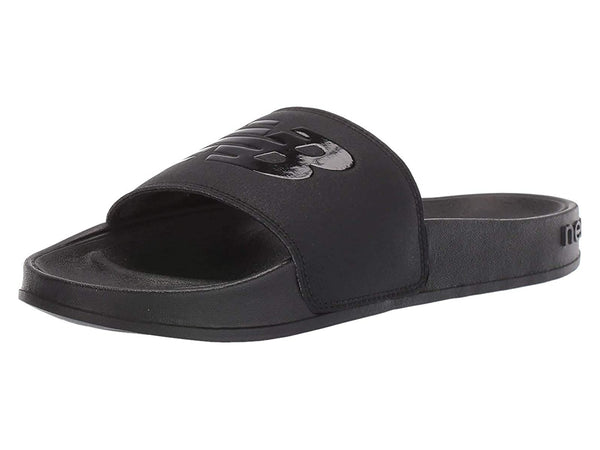 New Balance Women's Slides, Black