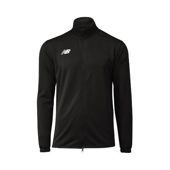 New Balance Men's Knit Training Jacket, Black