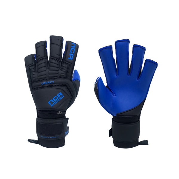 NGA 2020 Legacy Goalkeeper Glove, Black/Blue