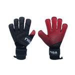 NGA 2020 Aura Goalkeeper Glove, Black/Red