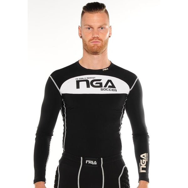NGA Goalkeeper Compression Top with Padding, Adult & Youth