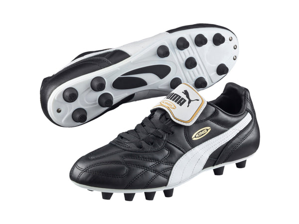 Puma King Top di FG Soccer Cleats, Black