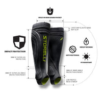 Storelli BODYSHIELD Leg Guard 2.0, Black