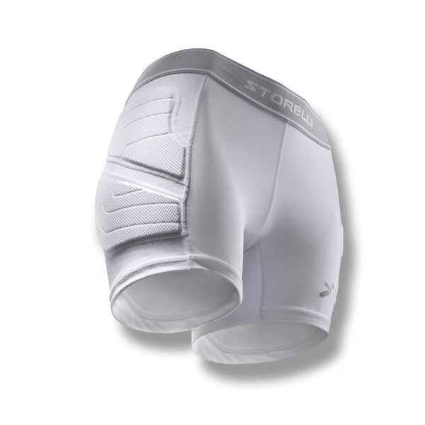 Storelli Women's BODYSHIELD Sliders, White