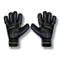 Storelli Gladiator Pro 2 Goalkeeper Gloves, Black/Yellow