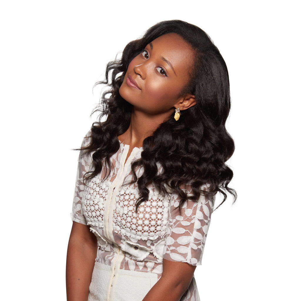Natural Hair Clip In Extensions Kinky Curly Afro Black Beauty