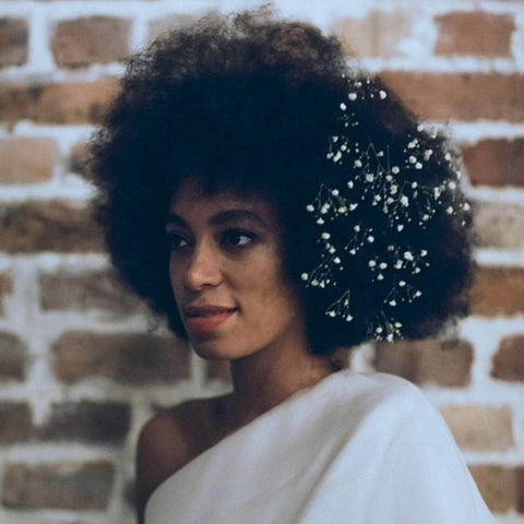 Natural Hair Bride Solange