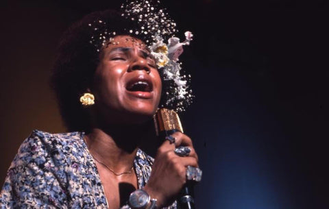 Minnie Ripperton in Angel Breath and Natural Hair