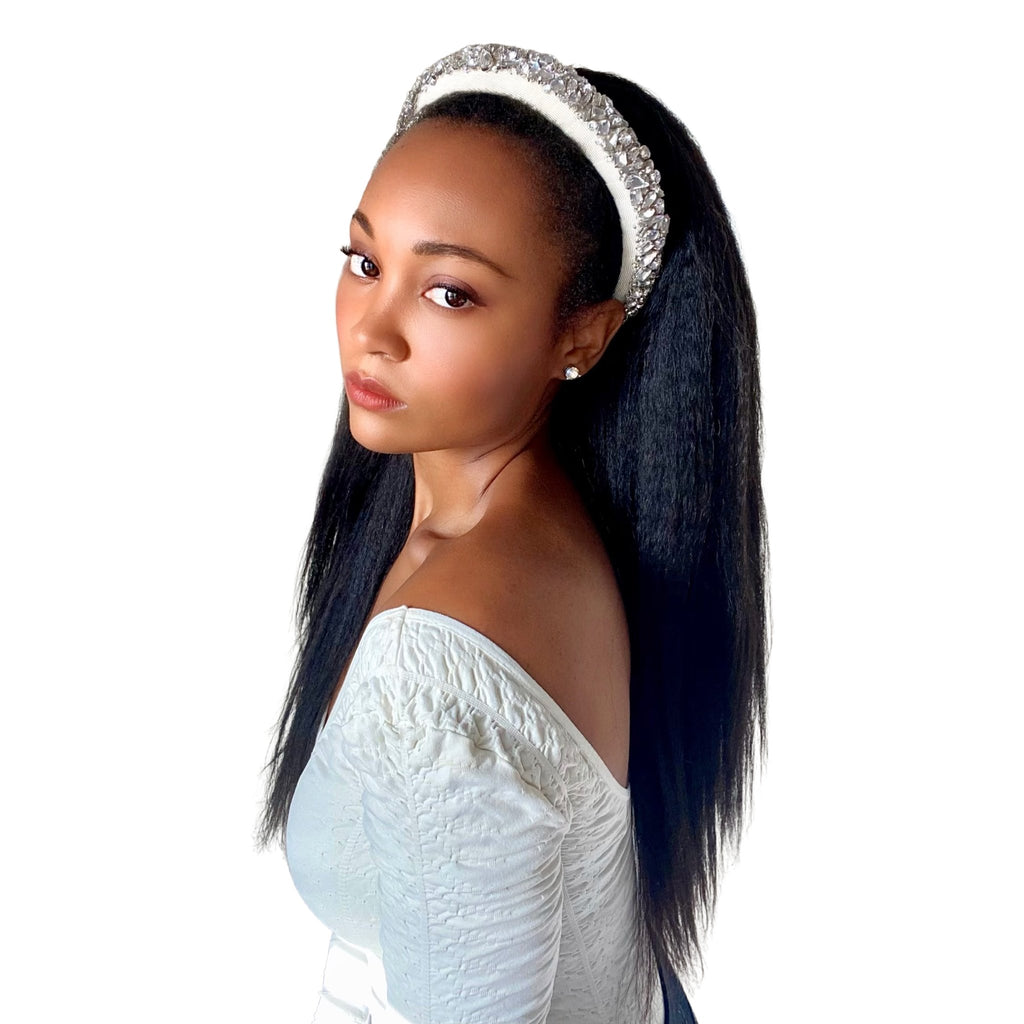 18in Blowout Headband Wig - Kurly Klips