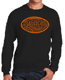 Raiders Football Unisex Crew Sweatshirt in Black - choice of design
