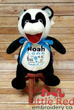 Cubbies™ Panda Stuffie with Custom Embroidery