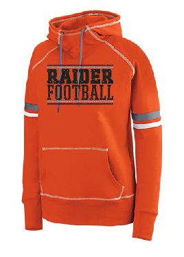 Raiders Football Womens Spry Hoodie - choice of design