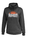 Raiders Football Womens Cowl Neck Sweatshirt - choice of design
