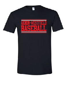Westerners Baseball Unisex Tee in Black - choice of design